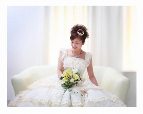第69回東北写真家コンテスト 婚礼写真の部 金賞受賞作品  『ウェディングドレス』