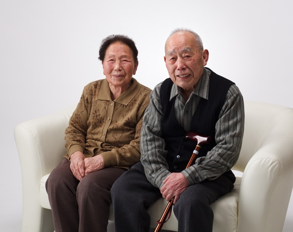 2011 富士フイルム営業写真コンテスト 家族写真の部 テーマ賞受賞作品 「夫婦」